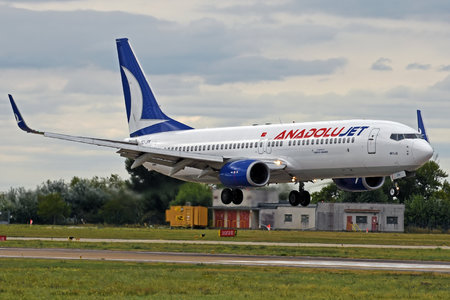 Boeing 737-800 - TC-JFN operated by AnadoluJet