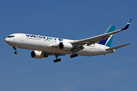 Boeing 767-300ER - C-FOGJ operated by WestJet Airlines