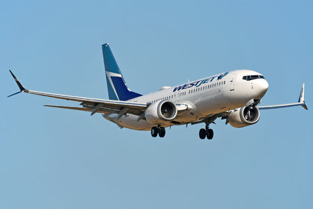 Boeing 737-8 MAX - C-FRAX operated by WestJet Airlines