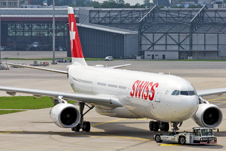 Airbus A330-343 - HB-JHC operated by Swiss International Air Lines