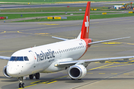 Embraer 190-100LR - HB-JVS operated by Helvetic Airways