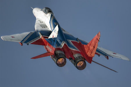 Mikoyan-Gurevich MiG-29S - RF-91933 operated by Vozdushno-kosmicheskiye sily Rossii (Russian Aerospace Forces)