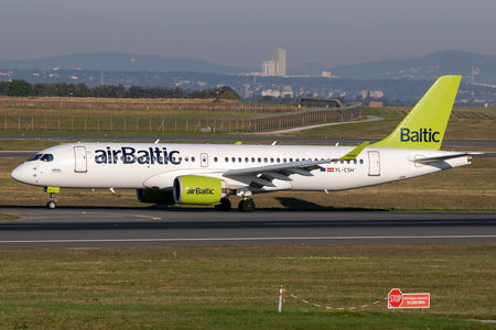 Airbus A220-300 - YL-CSH operated by Air Baltic