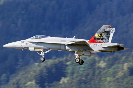 McDonnell Douglas F/A-18C Hornet - J-5017 operated by Schweizer Luftwaffe (Swiss Air Force)