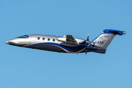 Piaggio P180 Avanti II - LZ-ASR operated by Private operator