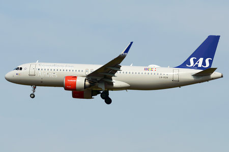 Airbus A320-251N - LN-RGN operated by Scandinavian Airlines (SAS)