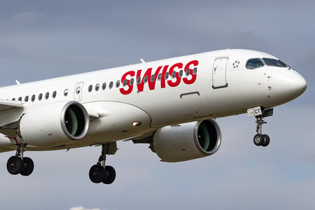 Airbus A220-300 - HB-JCT operated by Swiss International Air Lines