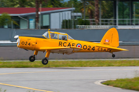 OGMA DHC-1 Chipmunk Mk.20 - CS-AZX operated by Private operator