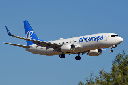 Boeing 737-800 - EC-MXM operated by Air Europa