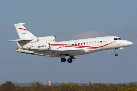 Dassault Falcon 7X - N656FN operated by Fosun International Limited