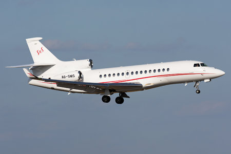 Dassault Falcon 8X - A6-SMS operated by Private operator