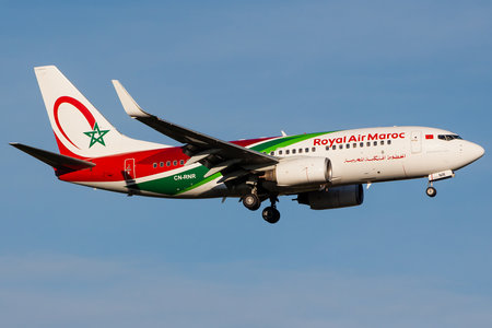 Boeing 737-700 - CN-RNR operated by Royal Air Maroc (RAM)