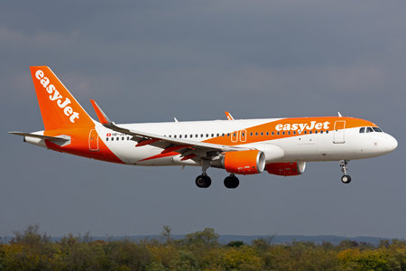Airbus A320-214 - HB-JXN operated by easyJet Switzerland