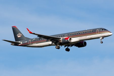 Embraer E195LR (ERJ-190-200LR) - JY-EMB operated by Royal Jordanian