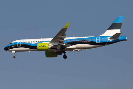 Airbus A220-300 - YL-CSJ operated by Air Baltic
