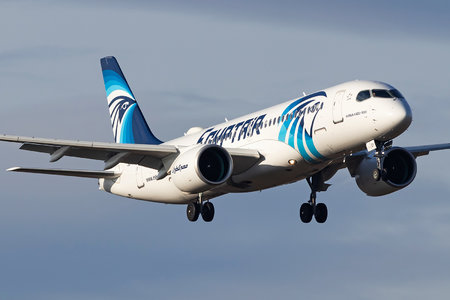 Airbus A220-300 - SU-GEY operated by EgyptAir