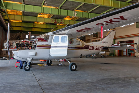 Cessna P210N Pressurised Centurion - OM-SKY operated by Private operator
