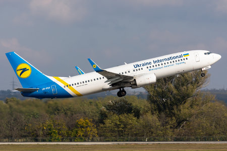 Boeing 737-800 - UR-PSV operated by Ukraine International Airlines