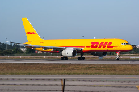 Boeing 757-200PCF - G-DHKI operated by DHL (European Air Transport)