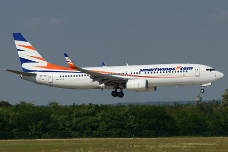 Boeing 737-800 - OK-TVJ operated by Travel Service