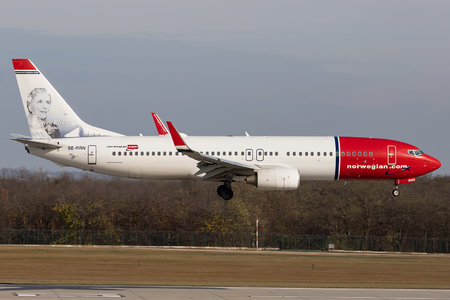 Boeing 737-800 - SE-RRN operated by Norwegian Air Sweden