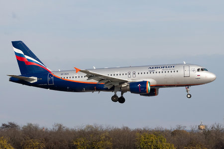 Airbus A320-214 - VP-BZO operated by Aeroflot