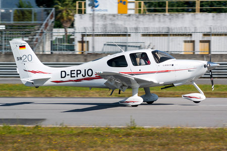 Cirrus SR20 G3 - D-EPJO operated by Private operator