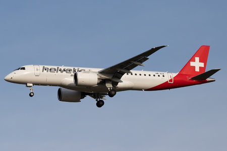Embraer 190-300STD - HB-AZA operated by Helvetic Airways
