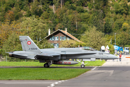 McDonnell Douglas F/A-18C Hornet - J-5026 operated by Schweizer Luftwaffe (Swiss Air Force)