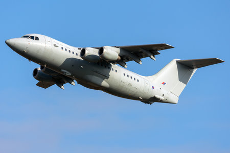 British Aerospace BAe 146-200 - ZE707 operated by Royal Air Force (RAF)