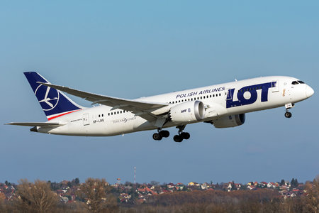 Boeing 787-8 Dreamliner - SP-LRG operated by LOT Polish Airlines
