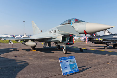 Eurofighter Typhoon S - 30+63 operated by Luftwaffe (German Air Force)