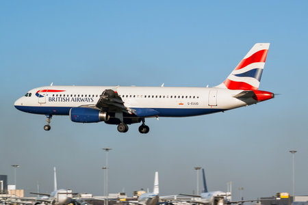 Airbus A320-232 - G-EUUD operated by British Airways