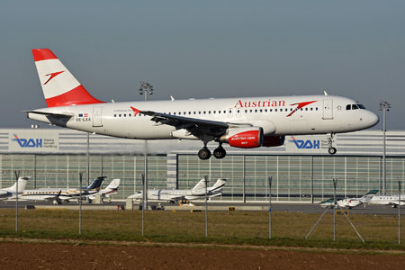 Airbus A320-216 - OE-LXA operated by Austrian Airlines