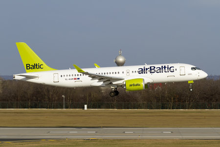 Airbus A220-300 - YL-AAR operated by Air Baltic