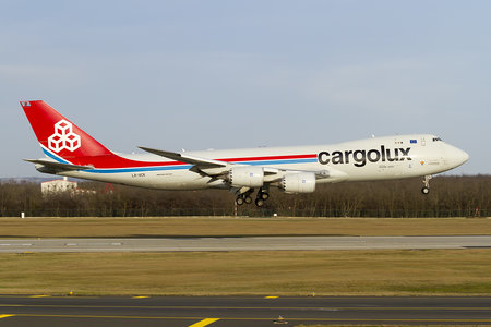 Boeing 747-8F - LX-VCK operated by Cargolux Airlines International