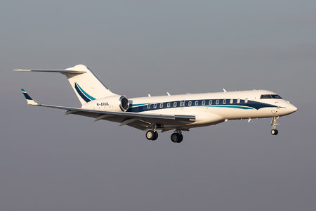 Bombardier Global 6000 (BD-700-1A10) - M-ARVA operated by Private operator