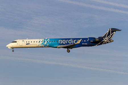 Bombardier CRJ900 NextGen - ES-ACD operated by Nordica
