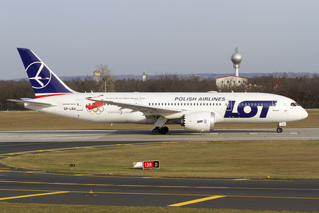 Boeing 787-8 Dreamliner - SP-LRH operated by LOT Polish Airlines