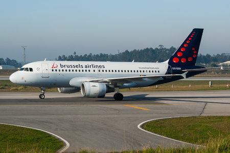 Airbus A319-111 - OO-SSB operated by Brussels Airlines