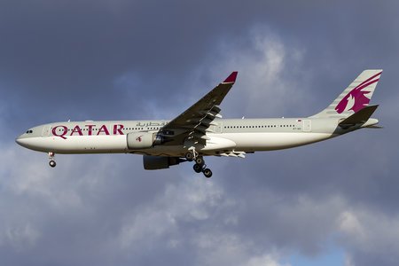 Airbus A330-302 - A7-AEI operated by Qatar Airways