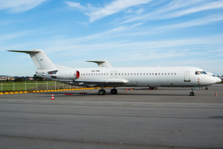 Fokker 100 - CS-TPB operated by Portugália Airlines