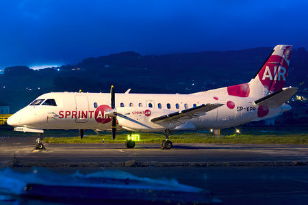 Saab 340A - SP-KPR operated by SprintAir