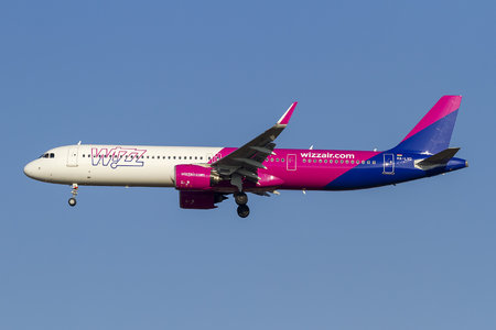 Airbus A321-271NX - HA-LVD operated by Wizz Air
