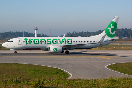 Boeing 737-800 - F-HTVJ operated by Transavia France