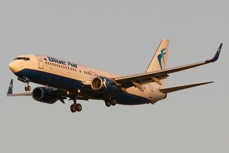 Boeing 737-800 - YR-BMI operated by Blue Air