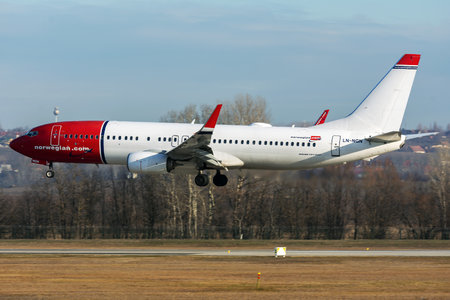 Boeing 737-800 - LN-NGN operated by Norwegian Air Shuttle