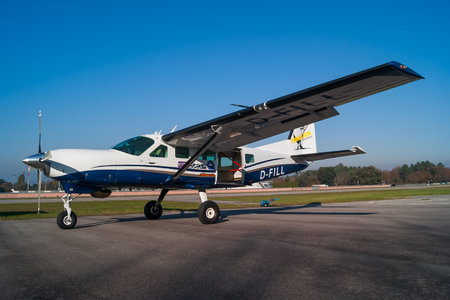 Cessna 208 Caravan I - D-FILL operated by Paranodon Fallschirmsport