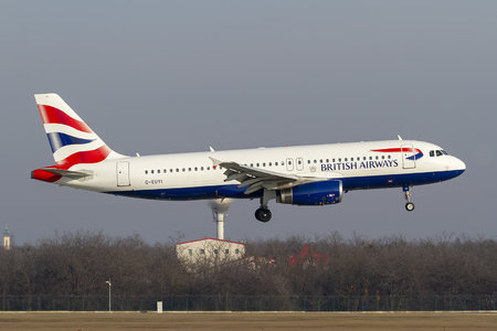 Airbus A320-232 - G-EUYI operated by British Airways