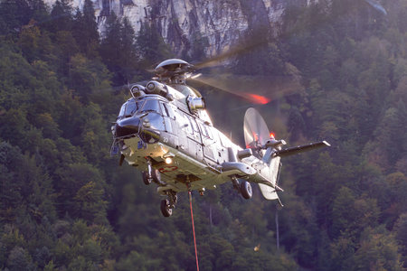 Eurocopter AS532 UL Cougar - T-333 operated by Schweizer Luftwaffe (Swiss Air Force)